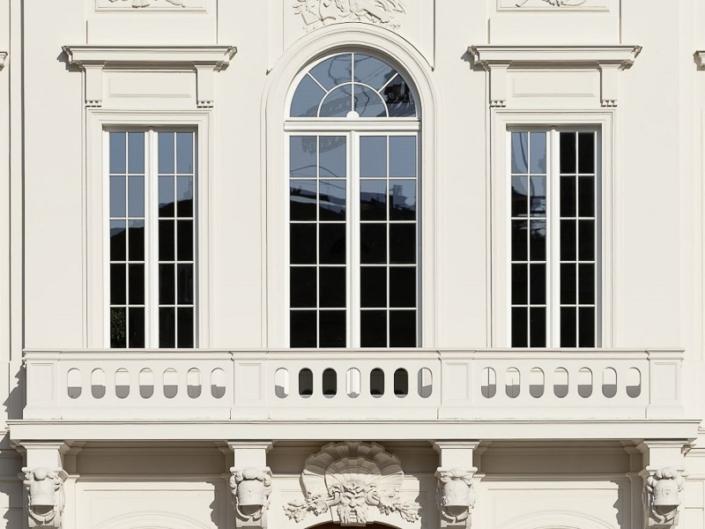 der sanierte Balkon
